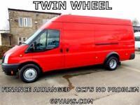 2013 FORD TRANSIT LWB, TWIN WHEEL JUMBO. HEAVY DUTY T460, BIG 125BHP, 3500KG