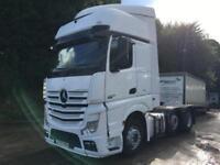 2012 62 Mercedes-Benz Actros 2545 Bluetech5 6x2 Gigaspace tractor unit