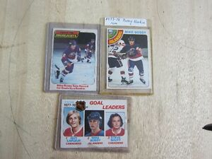 MIKE BOSSY ROOKIE O-PEE-CHEE  1978-79