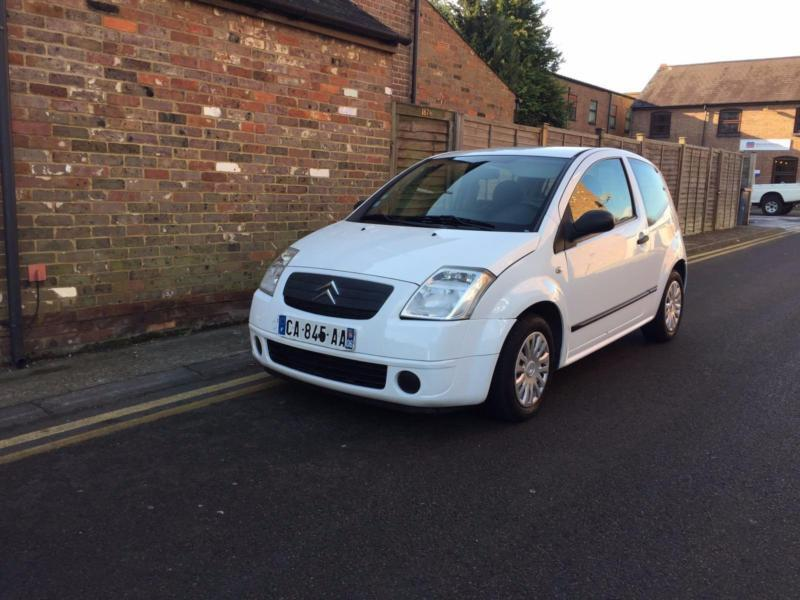 2006 citroen c2 1 4 hdi 68 000 miles lhd left hand drive french reg in chesham. Black Bedroom Furniture Sets. Home Design Ideas