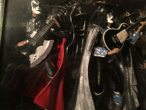 Mcfarlane, music, figure, KISS, BOXSET with lights, silver .999 Edmonton Edmonton Area image 2