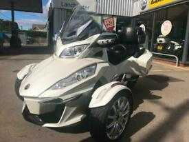 2016 Can-Am SPYDER RT 1330 ACE limited in white ONLY 3278 MILES