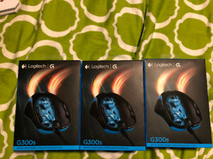 (3) Logitech G300s Optical Gaming Mouse