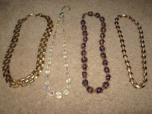 Assortment of Necklaces ( 40's - 50's - 60's - 70's )