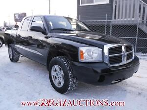 2007 DODGE DAKOTA  QUAD CAB 4WD