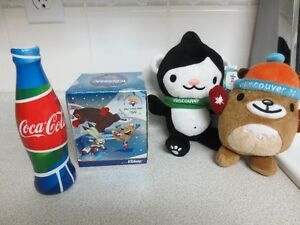 2002 and 2010 Official Olympic Merchandise