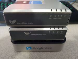 Voip Adapters Cisco Linksys SPA2102, PAP2T