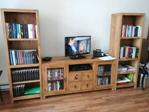 Meubles de salon + causeuse