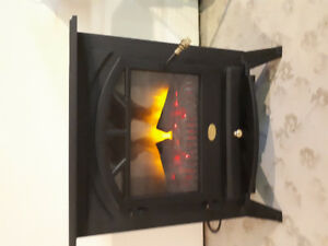 Electric Fireplace with heater