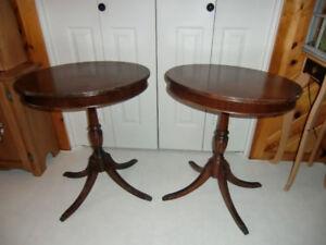 ANTIQUE DEILCRAFT TABLES
