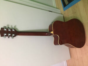 george washburn acoustic guitar with picup