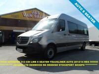 2014 14 MERCEDES-BENZ SPRINTER 2.1 313 BLUETEC TL9 BUS L.W.B NEW MODEL 9 SEATER