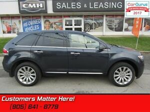 2014 Lincoln MKX   AWD, NAVIGATION, ROOF, CAMERA, COOLED SEATS