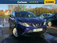 2014 Nissan Qashqai 1.2 DiG T Acenta Premium 5dr SUV 5 Seats SUV Petrol Manual
