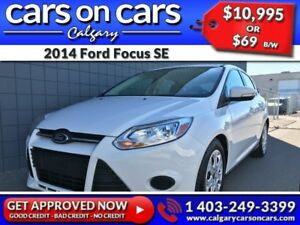 2014 Ford Focus SE $0 DOWN, $69 B/W! APPLY NOW!