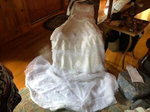 Robe de mariage  de taille 16-20