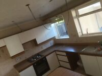Kitchen units great condition shed or beach hut