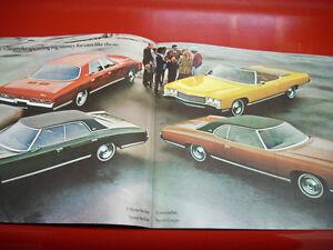 1971 Chevrolet sales brochure Peterborough Peterborough Area image 3
