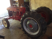 57 Ford Tractor