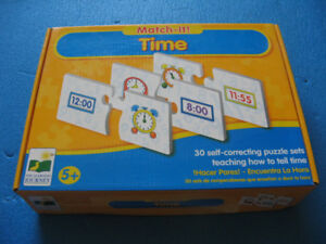 Learning to Tell Time Puzzle