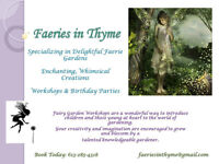 Faeries in Thyme