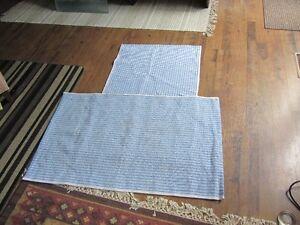 Ikea throw rugs X 2 REDUCED