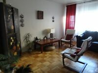 Furnished 31/2 apt to rent for July&August 750/month all incl.