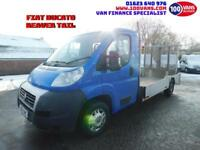 FIAT DUCATO 2.3JTD 130 MULTIJET B 2 B 33 LWB BEAVER TAIL IDEAL MOWER TRANSPORTER