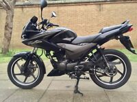 Honda Cbf 125 125cc Cbf125 CBT Learner legal 2015 12 months MOT Black Very low mileage 6k miles