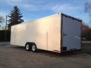 24' ENCLOSED CAR HAULER FOR RENT, BEST RATES!!!!!!