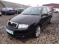 SKODA FABIA 1.9 TDi VRS 130~55/2005~5 DOOR HBACK~6 SPEED MANUAL~V.FAST~V.CLEAN