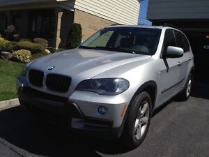 BMW x5 2010 silver fully equiped