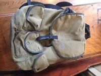 Timberland canvas rucksack