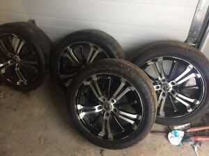 RTX Rims with Wanli Tires