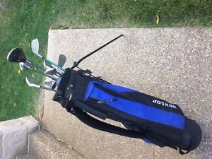 Jr. Right Handed Golf Clubs and Bag for sale