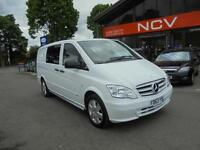 2013 MERCEDES BENZ VITO 116CDI VITO DUALINER OUTSTANDING EXAMPLE
