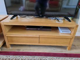 Tv unit / stand furniture - Partial Oak