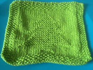 Handmade Knitted Dish Cloths, Cup Cozy's And Coasters