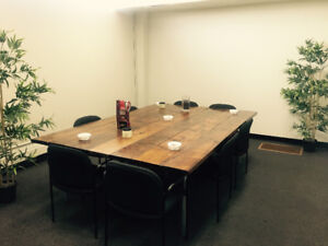 Office Space Sub-let: Newly Furnished at Jasper Ave/114 St.