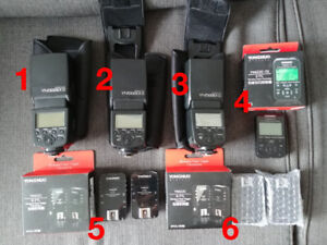 Flash YONGNUO 568 EX II kit complet wireless pour Canon
