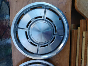 Plymouth vintage hubcaps