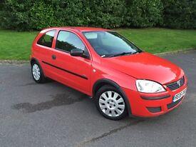 VAUXHALL CORSA 2006,IDEAL FIRST CAR, MOT Till MAY 2017