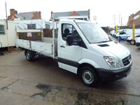 Mercedes-Benz Sprinter 2.1TD 313CDI LWB dropside taillift 2010 ideal recovery