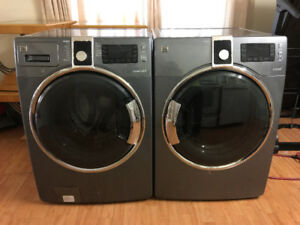 KENMORE Grey Frontload Electric Washer And Dryer