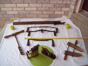 * ANTIQUE TOOLS/Plane/ Clamps/ Auger,Torches+More*SEE EACH PRICE