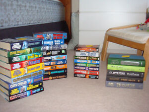 CLIVE CUSSLER book collection - 31 books