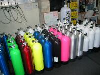 En Promotion chez Scuba Surface!! Cylindre plongée sous-marine