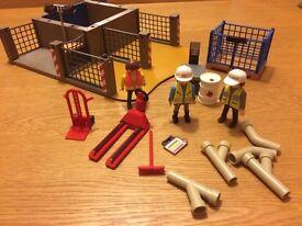 Playmobil construction site