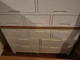 Oak Furniture Land Hove Large Chest Drawers exdisplay seconds bedroom