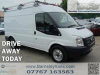 2012 12 FORD TRANSIT T350 MWB MED ROOF AWD 4X4 SWITCHABLE